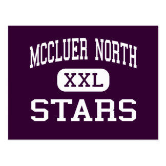 McCluer North - Stars - High - Florissant Missouri Postcard