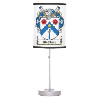 McClure Family Crest Table Lamps