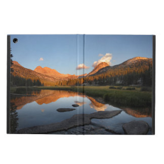 McClure Meadow Sunset Alpenglow - John Muir Trail Cover For iPad Air