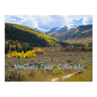 McClure Pass, Colorado Postcard