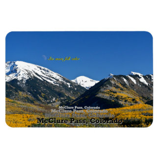 McClure Pass, Colorado Rectangular Photo Magnet