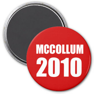 MCCOLLUM 2010 IMÁN REDONDO 7 CM