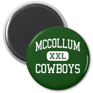 McCollum - vaqueros - alto - San Antonio Tejas Imán Redondo 5 Cm