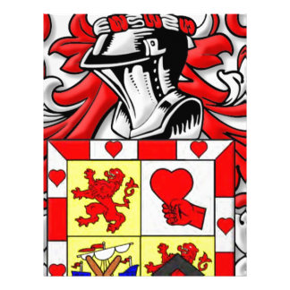 McComas Coat of Arms Custom Letterhead