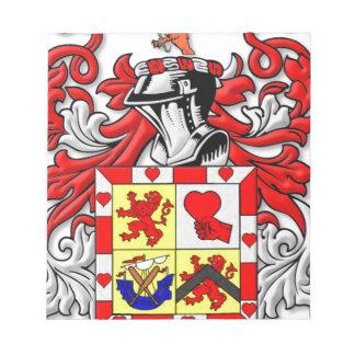 McComas Coat of Arms Notepad