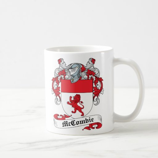 McCombie Family Crest Mugs