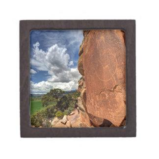 Mcconkie Ranch Petroglyph - Utah Keepsake Box