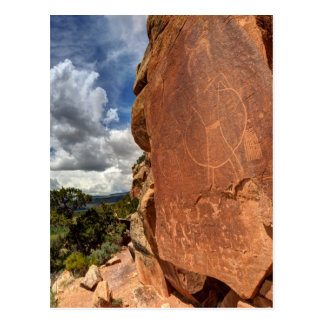 Mcconkie Ranch Petroglyph - Utah Postcard