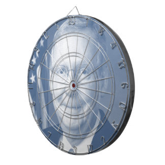 MCCONNELL CAMPAIGN BLUE -.png Dartboard With Darts