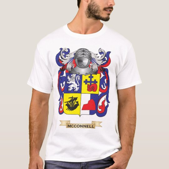 McConnell Coat of Arms (Family Crest) T-Shirt