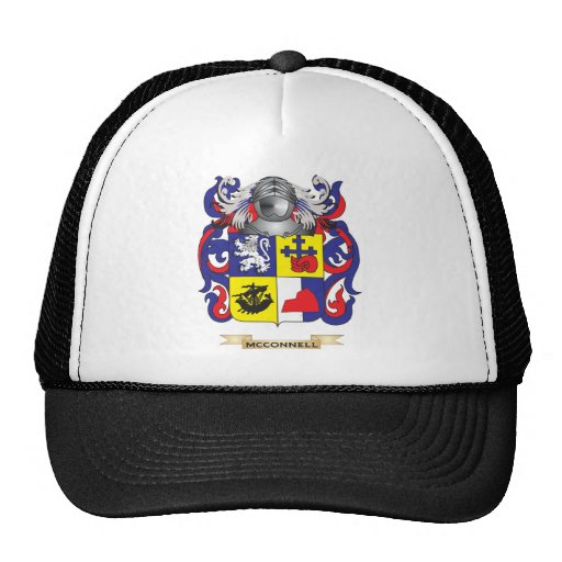 McConnell Coat of Arms (Family Crest) Trucker Hat