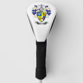 McConnell Family Crest Coat of Arms Golf Head Cover
