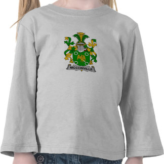 McConville Family Crest Tee Shirts