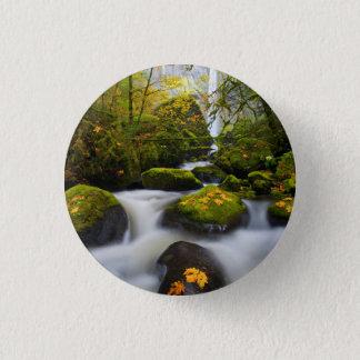 McCord Creek Bigleaf Maple | Columbia Gorge, OR Pinback Button