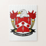 McCormack Family Crest Jigsaw Puzzle
