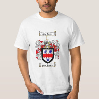 Mccormick Family Crest - Mccormick Coat of Arms T Shirts