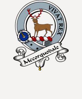 Mccorquodale Clan Badge Tees