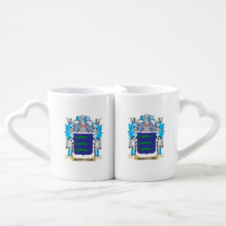 Mccotter Coat of Arms - Family Crest Couple Mugs