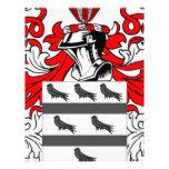 McCoy Coat of Arms Customized Letterhead