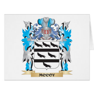 Mccoy Coat of Arms - Family Crest Cards