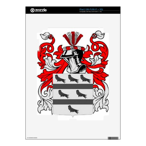 McCoy Coat of Arms Skins For iPad 2