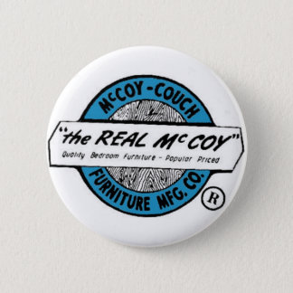 McCoy Couch Furniture MFG. CO Pinback Button