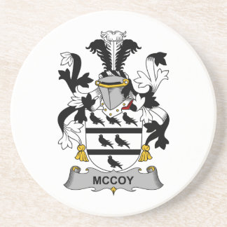 McCoy Family Crest Drink Coasters
