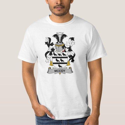 McCoy Family Crest Tshirts