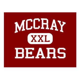 McCray - osos - joven - Coolidge Arizona Postales