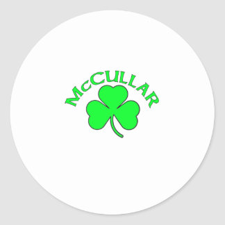 McCullar Classic Round Sticker