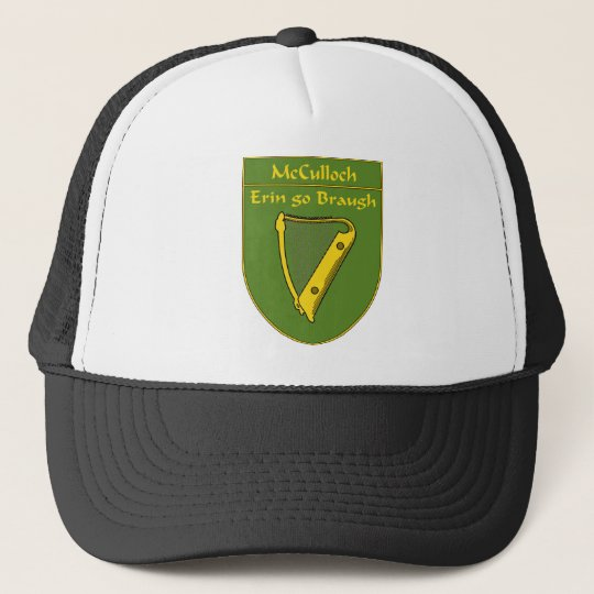 McCulloch 1798 Flag Shield Trucker Hat