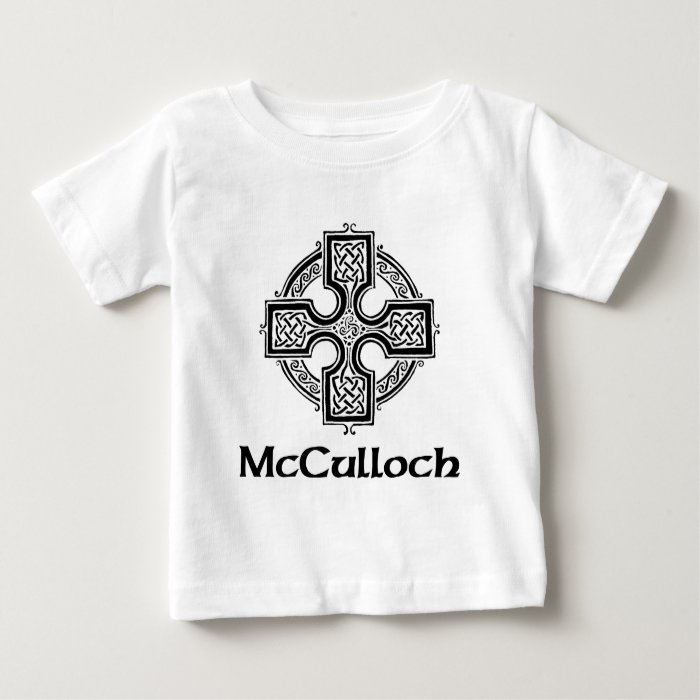 McCulloch Celtic Cross Baby T-Shirt