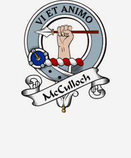 McCulloch Clan Badge T-shirt