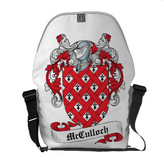 McCulloch Family Crest Courier Bag