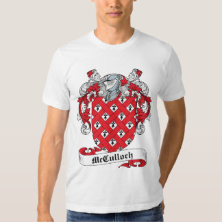 McCulloch Family Crest T Shirts
