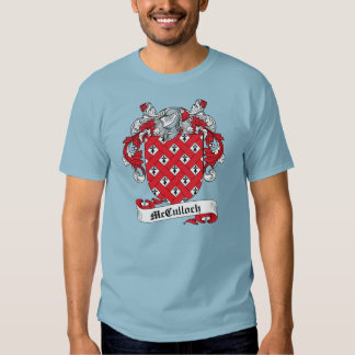 McCulloch Family Crest Tshirt