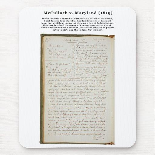McCulloch v. Maryland, 17 U.S. 316 (1819) Mousepad