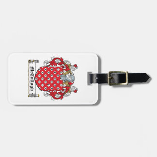 McCullogh Family Crest Bag Tags