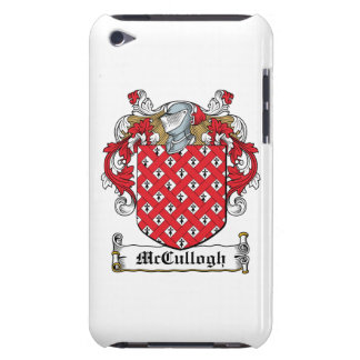 McCullogh Family Crest Barely There iPod Cover