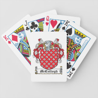 McCullogh Family Crest Bicycle Playing Cards