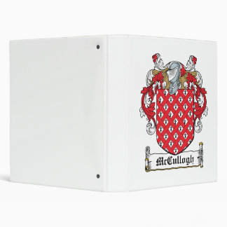 McCullogh Family Crest Binder