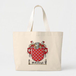 McCullogh Family Crest Canvas Bags