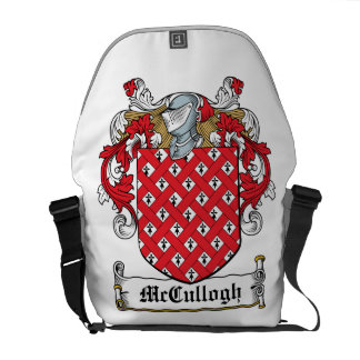McCullogh Family Crest Courier Bags