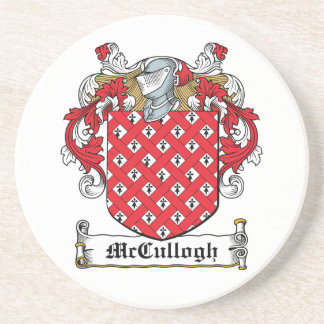 McCullogh Family Crest Drink Coaster