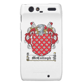 McCullogh Family Crest Droid RAZR Covers