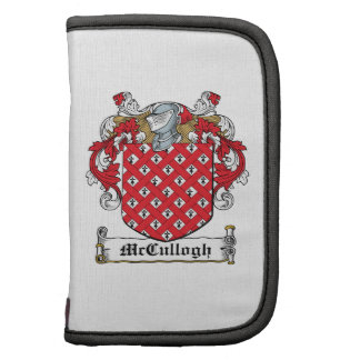 McCullogh Family Crest Folio Planner