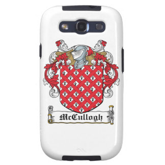 McCullogh Family Crest Galaxy SIII Cases