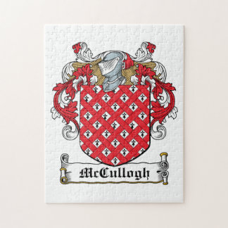 McCullogh Family Crest Jigsaw Puzzle