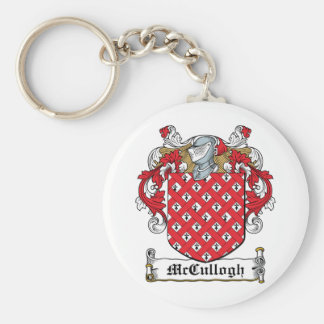 McCullogh Family Crest Keychains