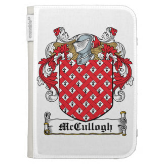 McCullogh Family Crest Kindle Case